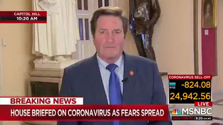 Dem Rep Threatens Don Jr. on Coronavirus Comments: If I See Him 'There Would Be A Serious Altercation'