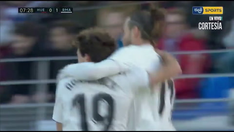 Huesca pierde 0-1 ante Real Madrid en La Liga