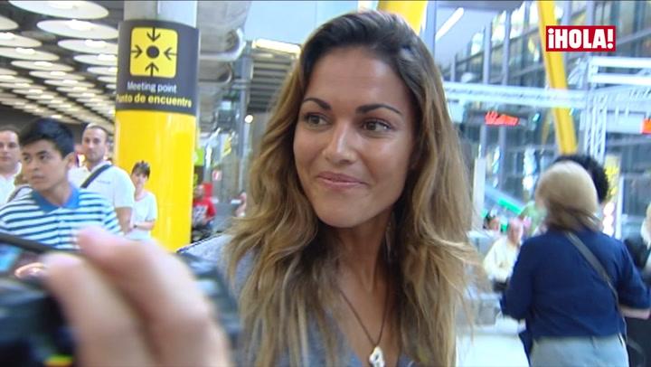 Así reacciona Lara Álvarez cuando se le pregunta por la nueva relación de Fernando Alonso