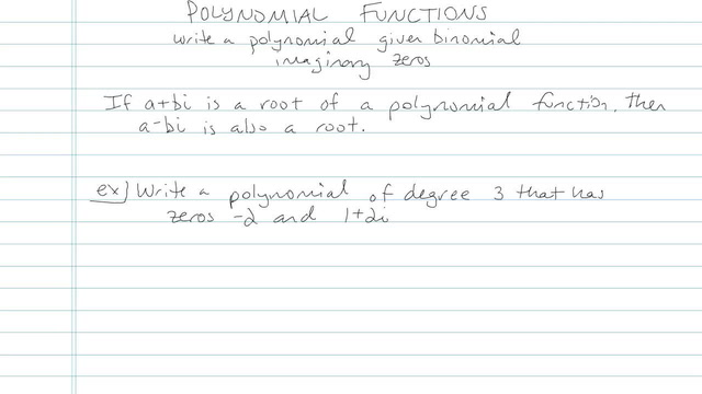 Polynomial Function - Problem 10