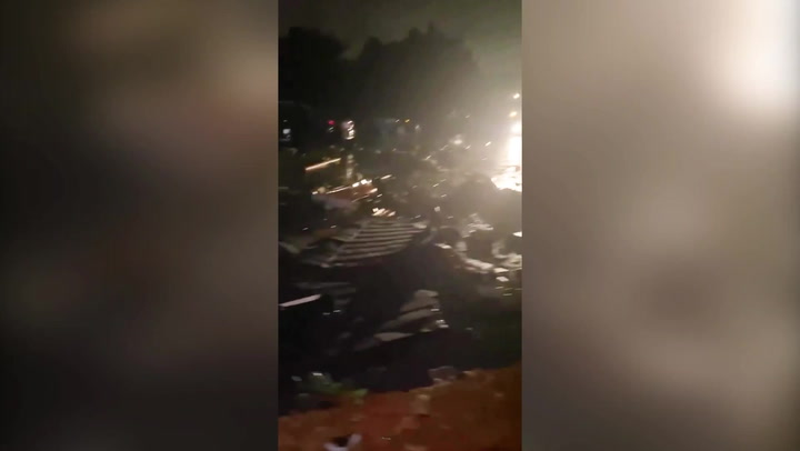 Chicago tornado leaves destruction in its wake