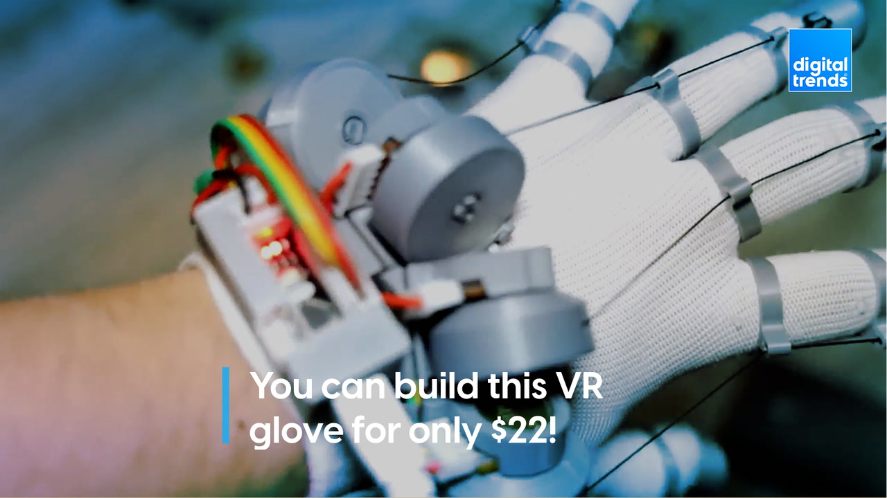 You can build these VR gloves for only $22!