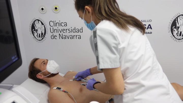 Continúan los reconocimientos médicos de la plantilla del Atlético