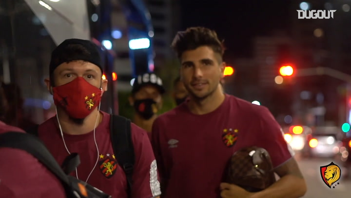 Behind the scenes of Sport Recife's draw against Ceará