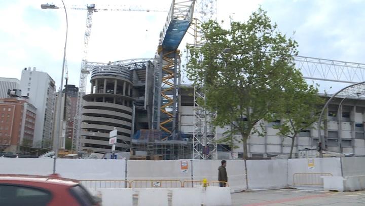 Continúan a buen ritmo las obras del nuevo estadio Santiago Bernabéu