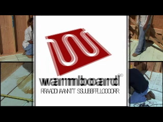 Warmboard Installation