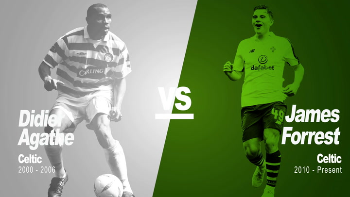 Past Vs Present - Didier Agathe Vs James Forrest