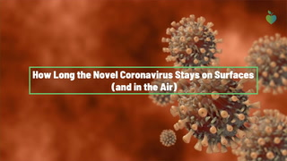 Food Safety and COVID-19: How Long the Novel Coronavirus Stays on Surfaces