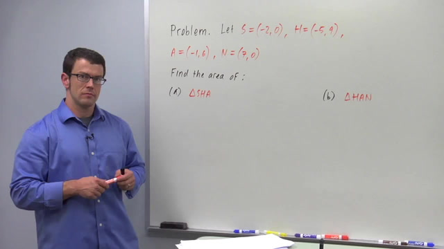 Area With Determinants - Problem 2