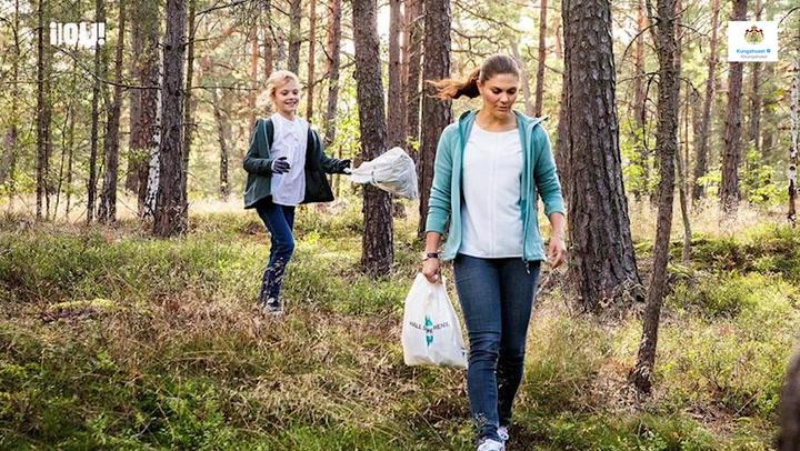 El plan ecológico de Victoria y Estella de Suecia