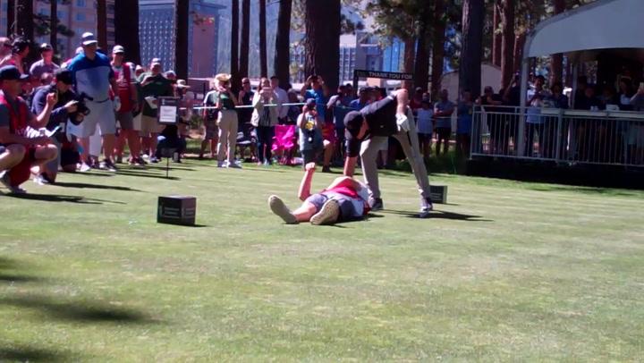 Un golpe de golf de auténtico terror