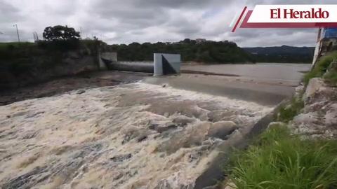Así permanece la represa Los Laureles en la capital de Honduras