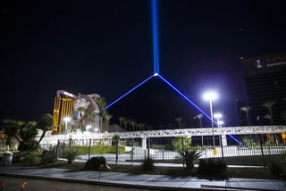 Las Vegas Strip hotels to honor slain trooper Thursday night – VIDEO