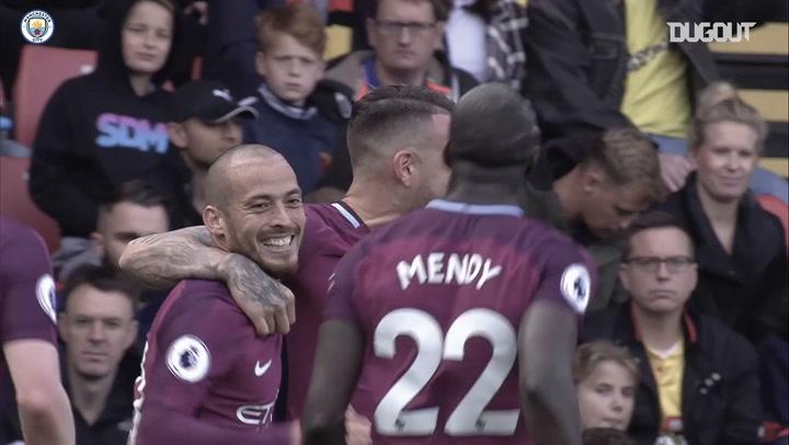 Nicolás Otamendi bids farewell as a Manchester City player
