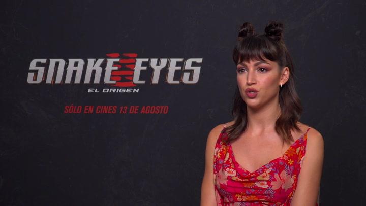 Úrsula Corberó salta a Hollywood como villana en 'Snake Eyes
