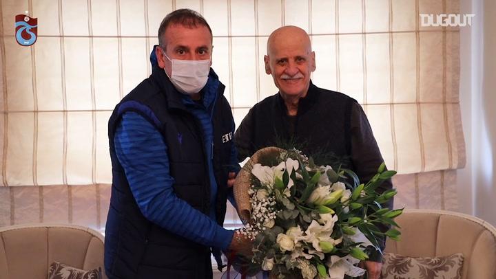 Abdullah Avcı'dan Trabzonspor Emekçilerine Saygı