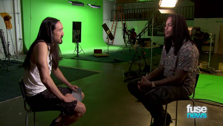 Interviews: Steve Aoki & Waka Flocka Flame Talk Fall Tour, Throwing Cake at Fans