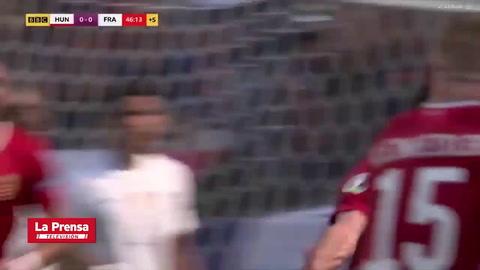Hungría 1 - 1 Francia (Eurocopa)