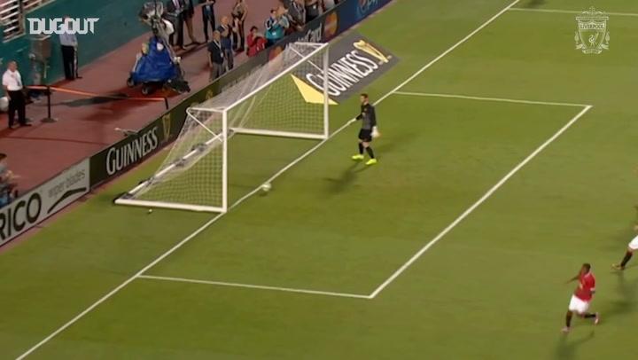 Gerrard supera De Gea em cobrança de pênalti
