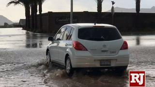Thunderstorm hits northwest Las Vegas