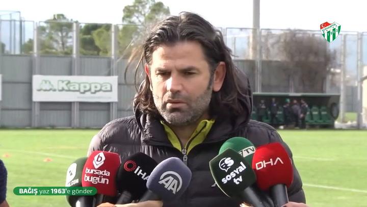 İbrahim Üzülmez: Eskişehirspor maçından dersler çıkaracağız