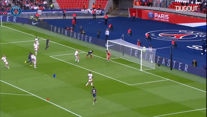 Paris Saint-Germain's best five goals against Bordeaux