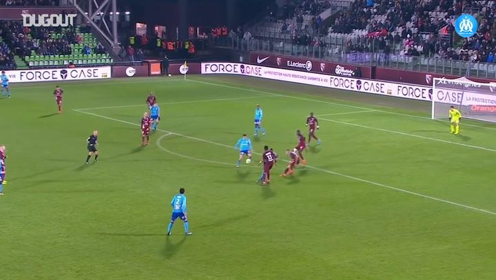 Hiroki Sakai assist for Lucas Ocampos Vs Metz