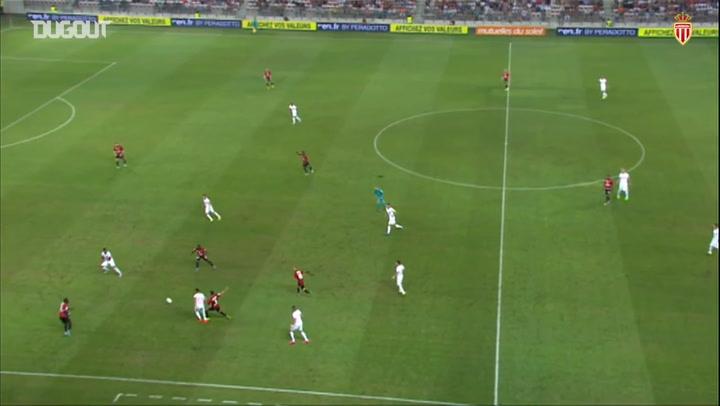 AS Monaco clinch 2-1 victory over OGC Nice