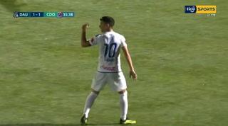 ¡Gol del Olimpia! Matías Garrido hace el empate 1-1 ante Árabe Unido