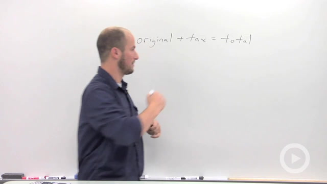Applied Linear Equations: Tax Problem - Problem 1