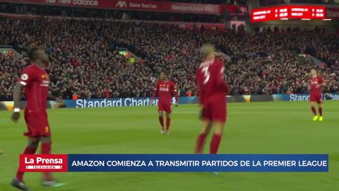 Amazon comienza a transmitir partidos de la Premier League