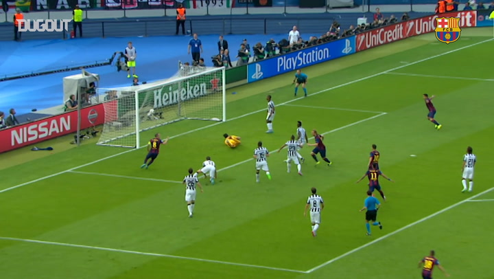 FC Barcelona beat Juventus to win the Champions League