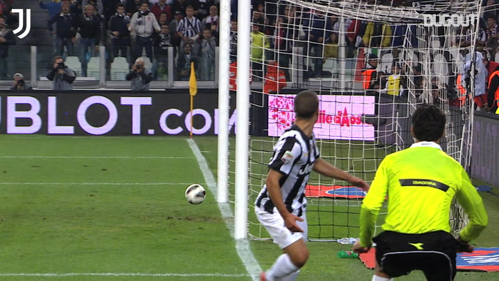 Andrea Barzagli box-to-box assist vs Roma
