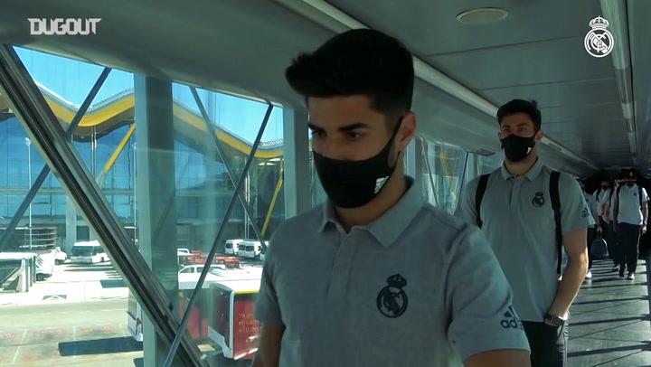 Real Madrid Barcelona'ya Seyahat Etti