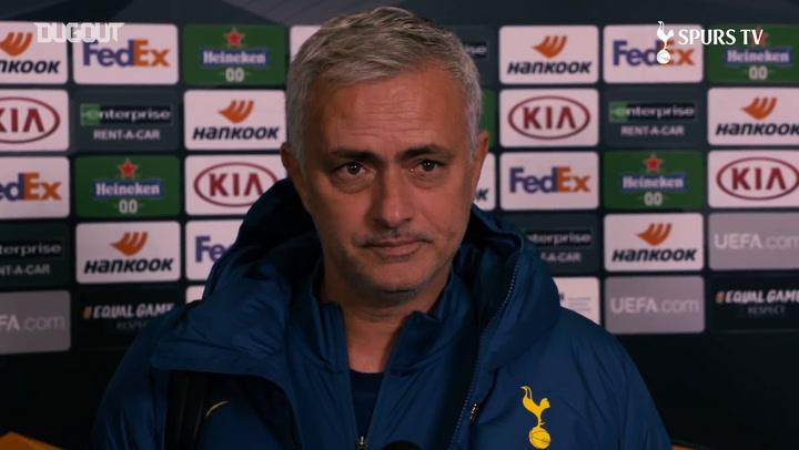 Mourinho: Kane's numbers speak for itself
