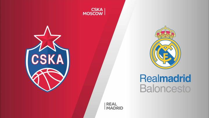 Euroliga: CSKA Moscow - Real Madrid