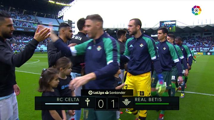 LaLiga: Resumen y Goles del Partido Celta (0) - (1) Betis del 10/03/2019