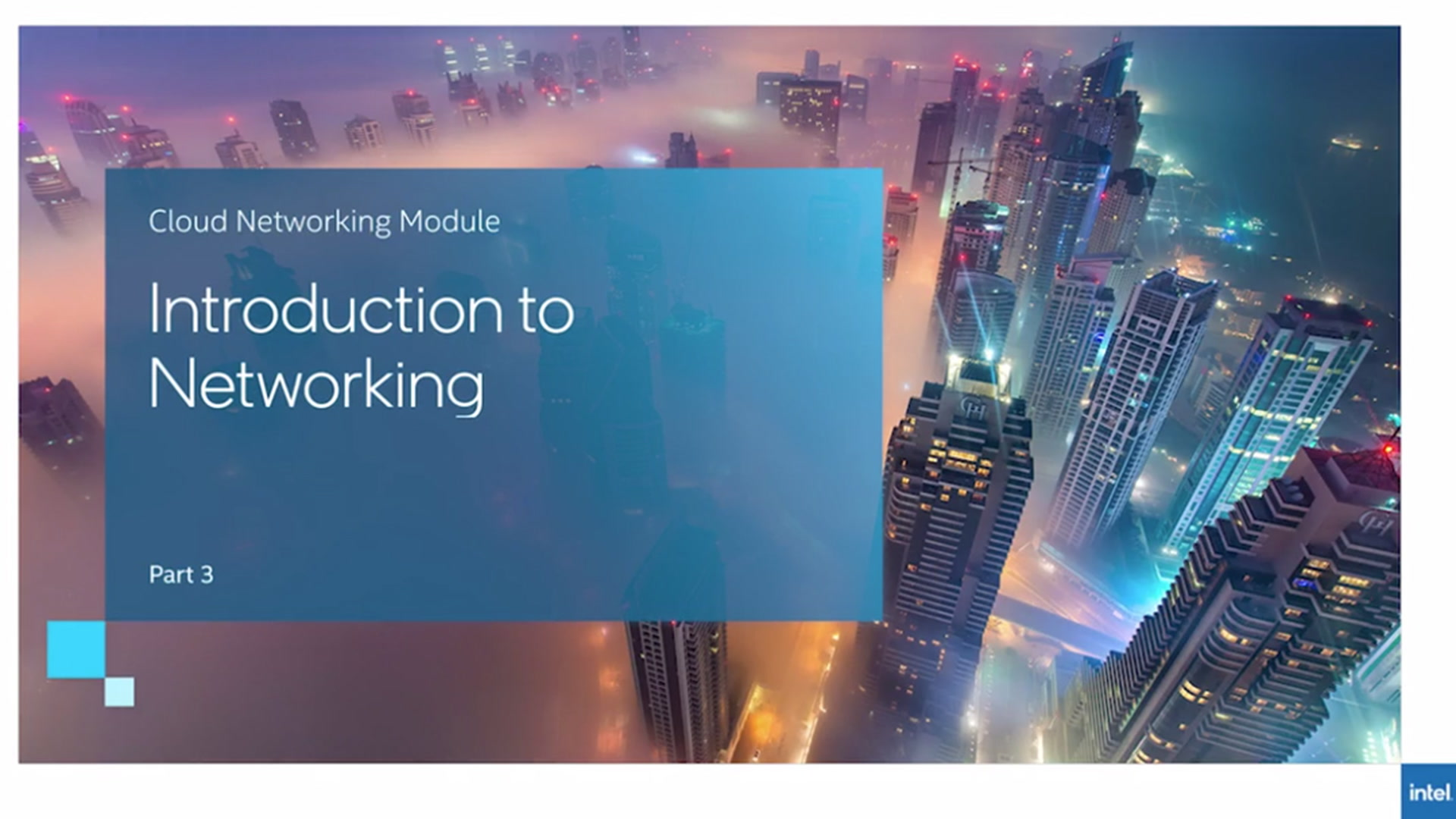 Chapter 1:Intel Networking Products