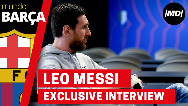 Exclusive interview to Leo Messi