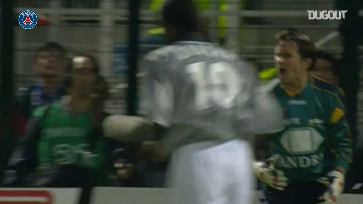 Laurent Robert's superb brace against Troyes in 2000