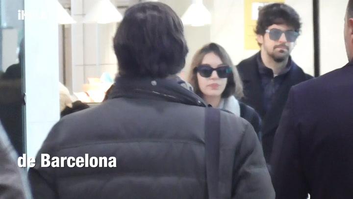 Ana Guerra y Miguel Ángel Muñoz, juntos en la estación de tren, ¿dónde han estado?