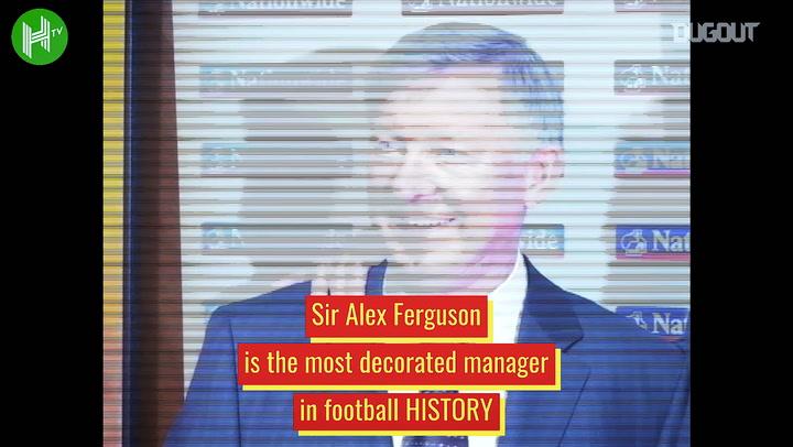 Sir Alex Ferguson's legendary Manchester United career