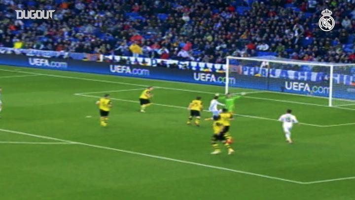 Real Madrid beats Dortmund at the Bernabéu