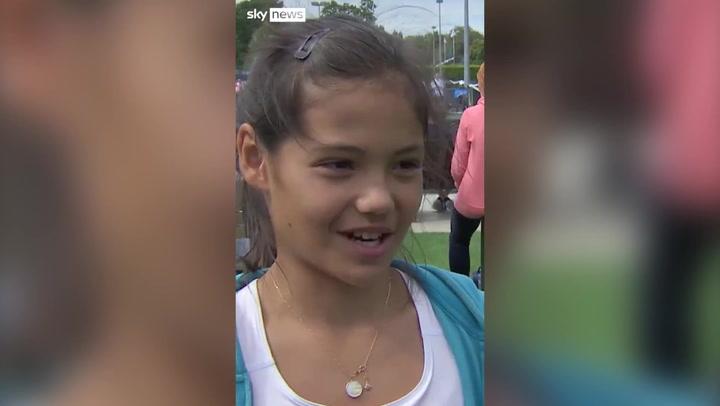 Emma Raducanu speaks of becoming Grand Slam champion in 2014 interview