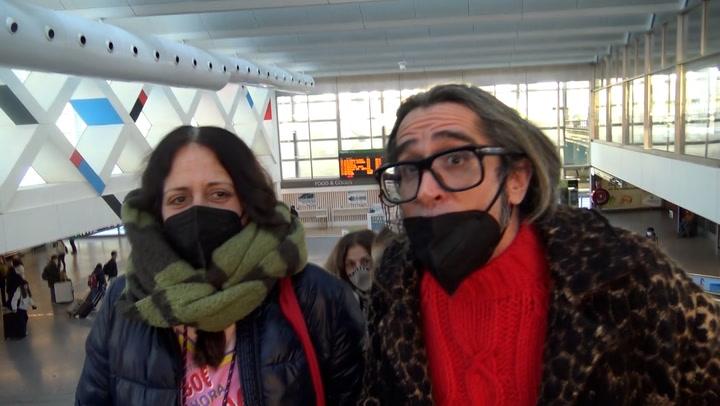 ¡Vaya periplo! Las \'celebs\' de \'Tu cara me suena\', por fin en casa tras quedar atrapados en Barcelona