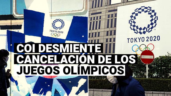 Tokio 2020: Comité Olímpico Internacional desmiente cancelación de los Juegos Olímpicos