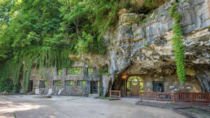 Cave Home Transitions From Fallout Shelter to Nightclub to Luxury Retreat
