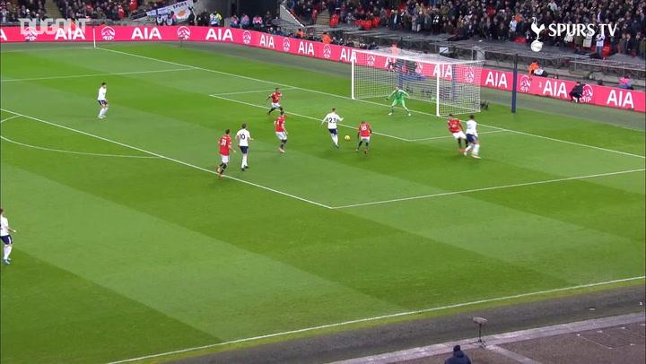 Christian Eriksen Scores After 11 Seconds Vs Manchester United
