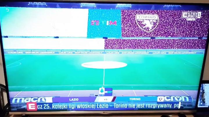 El Torino no se presenta al partido contra la Lazio