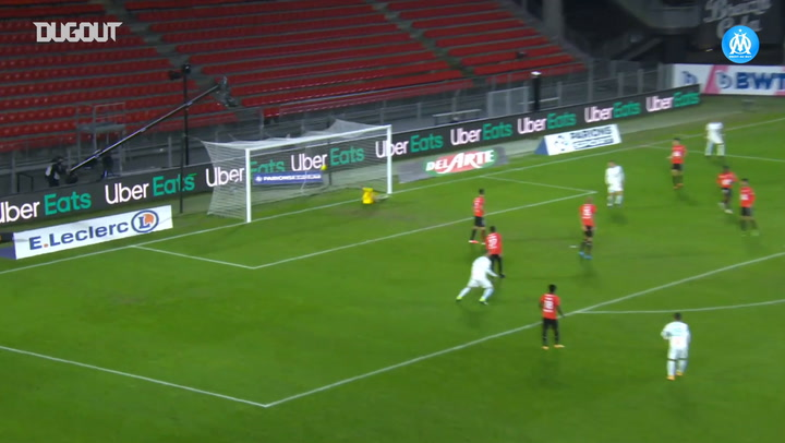Pape Gueye's great first goal with Marseille